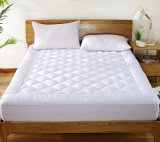 Wholesale 233t Cotton 5% Soft White Goose Down Filling Mattress Topper for Star Hotel