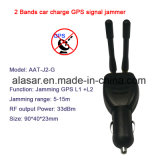 2bands Car Charge Anti Tracking GPS Gnss Signal Jammer Blocker
