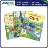 Customized Low Cost Magazine Catalog Hardcover Children Sticker Book Printing