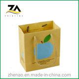 High Quality Printing Logo Cheap Luxury Shopping Kraft Paper Bag