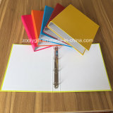Assorted Color A4 4 Ring Binder Paper File Folders