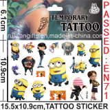 Despicable Metemporary Tattoo Sticker for Kids (cg056)