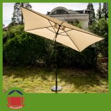 Steel Outdoor Patio Umbrella with Adjustable Head