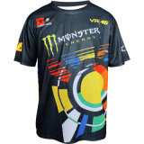 Fashionable Design Monstor Jersey for Motor Racing Sports (ASH06)