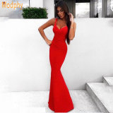 Bandage Dress Long Evening Fishtail Dress on The Party Prom Dress