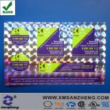 Hologram Serial Number UV Resistant Shiny Thermal Transfer Glossy Sticker