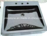 All Poslihed Shanxi Black Granite Cabinet Basin for Bathroom