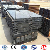 Alloy Steel Casting Mill Liners for for Ball Mill and AG/Sag Mill