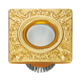 24k Gold Plated Brass Hotel LED Light
