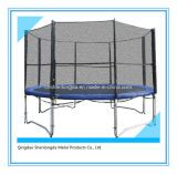 12 FT Outdoor Bounce Trampoline with Enclosure Kids Bungee Trampoline