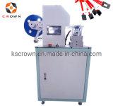 Semi Automatic Sticky Paper Label Wire Harness Cable Folding Label Machine Fold Labelling Machine