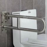 up-Folding 304 Stainless Steel Toilet Grab Bars&Handrails Bathroom Accessories