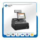 Combination POS Keyboard 58mm Thermal Printer Cash Drawer Customer Display Cash Register Windows POS Terminal (POS-3000A)