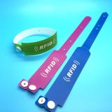 Amusement park waterproof MIFARE Ultralight EV1 disposable RFID wrist band