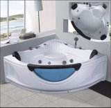 1500mm Sector Massage Bathtub SPA with Front Glass for 2 Persons (AT-8304)
