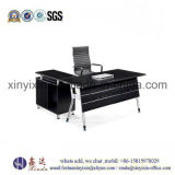 Melamine Office Furniture Black Color Manager Office Desk (MT-96#)