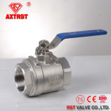 Stainless Steel Full Port Floating Threaded 2PC Ball Valve