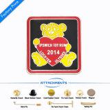 Custom Wholesale Hard Enamel Badge as Gift