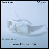 2780nm 2940nm Er Laser Safety Glasses & Eye Protective Goggles with White Frame 52