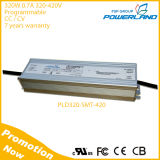 94% Efficiency 320W 0.7A 320-420V 0-10V Dimmable Waterproof LED Driver