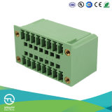 Pluggable Male and Female PCB Terminal Block 3.81mm 300V/8A Connector