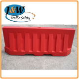 High Visible Reflective 2m Water Filled Plastic Traffic Barrier