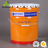 Paint Metal Bucket with Flower Lid with Custom Printing