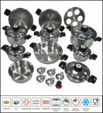 Kitchenware T304 Surgical Waterless Greaseless Stainless Steel Cookware Set