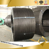 15.24mm Prestressed Steel Wire Strand