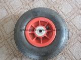 PU, Flat Foam Tyre for Wheel Barrow
