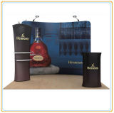 Tension Textile Backwall Display for Easy Advertising