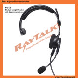 Ultra-Light Headset with Boom Mic for Two Way Radios
