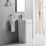 Modern Design Ceramic Pedestal Wash Basin Competitive Price Bathroom Sink
