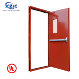 UL Listed Fire Rated Door/Steel Panic Door/Cheap Metal Fire Door Prices