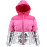 Wholesale Fashion Korean Fancy Designers Winter Windbreaker Dress Clothing Clothes Long Cotton Padded Jacket Coat for Children Kids Teen Young Baby Cute Girls