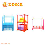 Stacking Cheap Powder Coating Metal Nestainer Rack for Industrial Storage