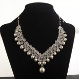 Webbing Accessories Wholesale Alloy Bride Tiaras Earring Necklace for Set