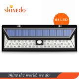 Outdoor Solar Power 54 LED Wall Light for Garden Security
