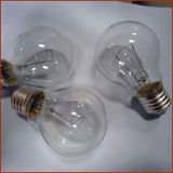 A55 Globe Lighting B22 Clear Frosted Glass Incandescent Light Bulbs 110-130V 25W Lamps