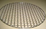 Stainless Steel Galvanized Round Barbecue BBQ Grill Wire Mesh Net