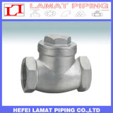 800wog 304 316 Stainless Steel Threaded Type Swing Check Valve