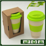 Wholesale Reusable 100% Natural Fiber Fibre Custom Personalized Keep Thermo Coffee Bamboo Cup Travel Coffee Mug