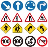 Price Outdoor Aluminium Reflective Highway Traffic Road Safety Signs