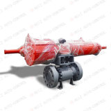 Trunnion Mounted Flange End Ball Valve for Pneumatic