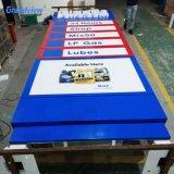 Gas Station Advertising Equipment LED Pylon Petrol Station Totem Display