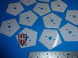 High Precision Corrosion Resistant Zirconia Ceramic Sheets Pentagon Blades Factory