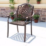 Outdoor Table and Chair Anticorrosive Garden Courtyard Combination Set Terrace Balcony Leisure Outdoor Dining Table and Chair