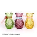 Cheap Beautiful Sprayed Colored Glass Vase