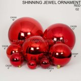 Christmas Shiny Ball From Size 25mm to 600mm, Material: Plastic, Christmas Decoration