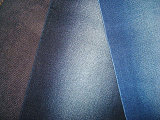 Cotton Polyester Stretch Twill Denim Fabric Indigo Blue